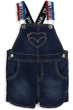 Levi's Baby Girl's Denim Overalls - Cruise - Size 3 Months