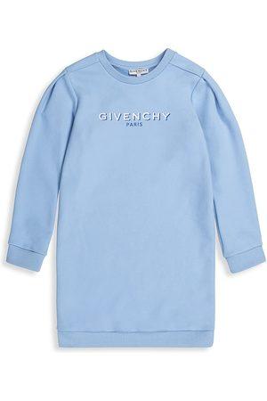 Givenchy Little Girl's & Girl's Logo Sweatshirt Dress - Pale - Size 10