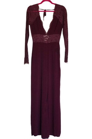Lovers + Friends Burgundy Synthetic Jumpsuits
