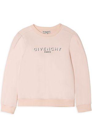 Givenchy Little Girl's & Girl's Shadow Logo Sweatshirt - Pale - Size 5