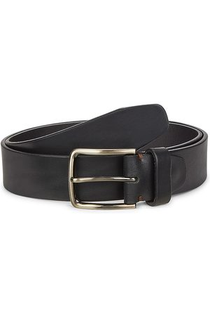 Saks Fifth Avenue Men's Buckled Leather Belt - - Size 44