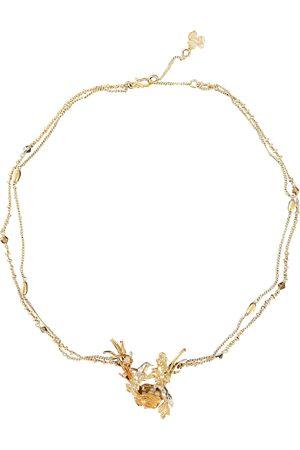 Les Néréides Multicolour Gold plated Necklaces