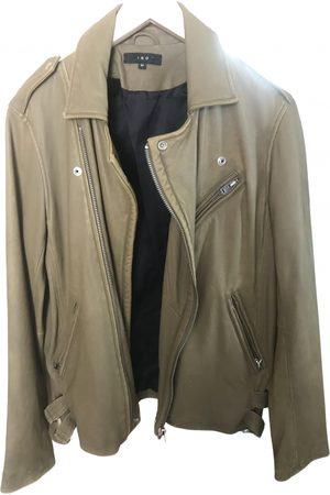 IRO Khaki Leather Jackets
