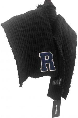 RAF SIMONS Wool Scarves & Pocket Squares