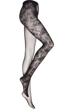 Amina x Wolford Lace-trimmed tights
