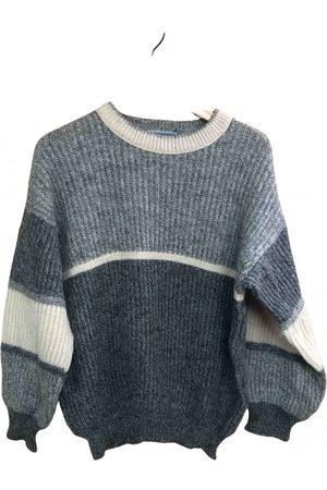 Les Jeunes Etoiles Grey Wool Knitwear & Sweatshirts