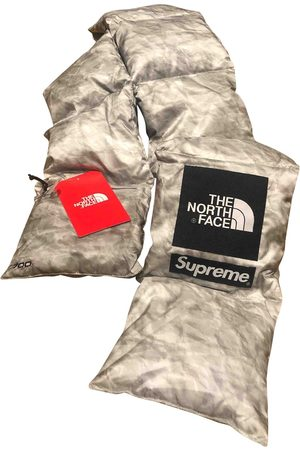 Supreme Grey Synthetic Scarves & Pocket Squares