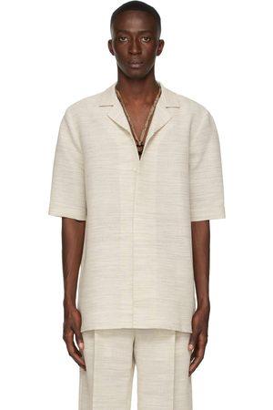 Botter Beige Tropical Shirt