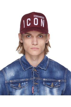 Dsquared2 Red Icon Baseball Cap