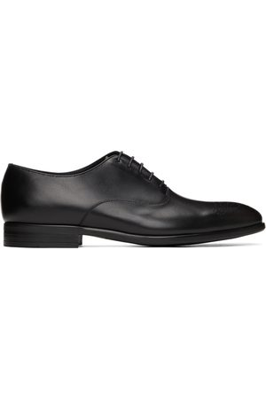 PS by Paul Smith Black Polished Leather Guy Oxfords