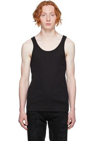 Givenchy Black Slim-Fit Tank Top