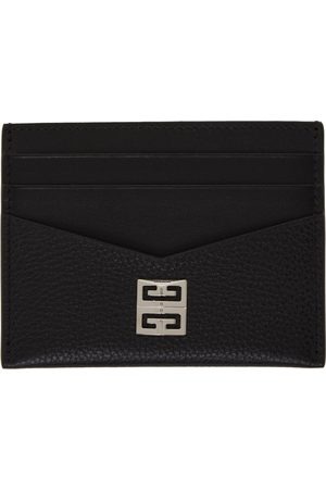 Givenchy Black Grained Card Holder