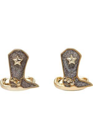 Paul Smith Gold Cowboy Boot Cufflinks
