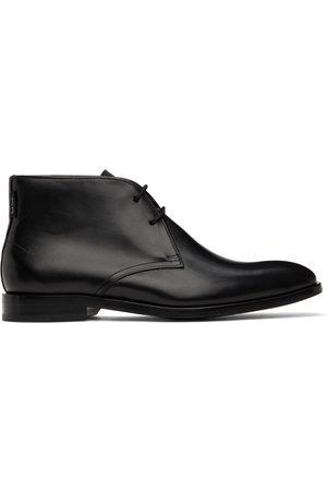 PS by Paul Smith Black Arni Desert Boots