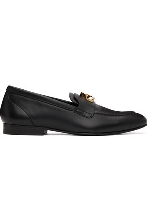 Givenchy Black G-Chain Loafers