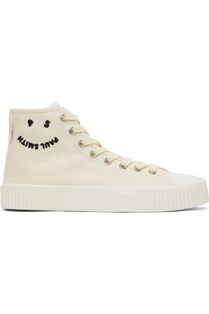 PS by Paul Smith White Kibby High-Top Sneakers