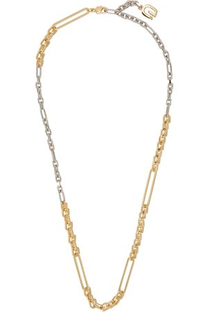 Givenchy Gold & Silver G Link Necklace