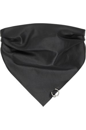 Jean Paul Gaultier SSENSE Exclusive Black Leather Piercing Scarf