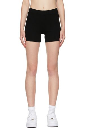 Cotton Citizen Black Ibiza Biker Shorts