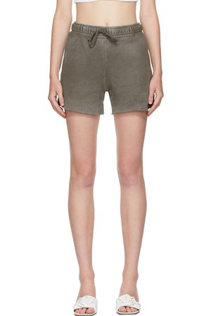 Cotton Citizen Taupe Brooklyn Shorts