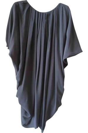 SPACE STYLE CONCEPT Grey Silk Dresses