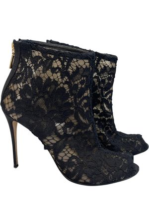 Dolce & Gabbana Cloth Ankle Boots
