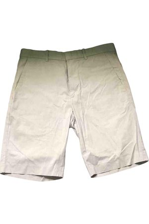 THEORY Grey Cotton Shorts