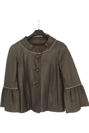 Maje Women Gilets - Leather short vest