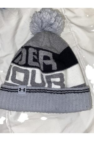 Under Armour Grey Cotton Hats & Pull ON Hats