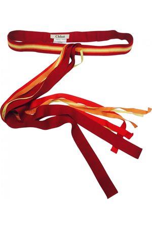 Chloé Multicolour Cotton Belts