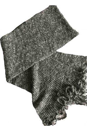 Dior Grey Wool Scarves & Pocket Squares