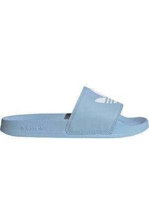 adidas Women Flip Flops - Adilette Lite Flip Flops EU 44 2/3 Clear Sky / Ftwr White / Clear Sky