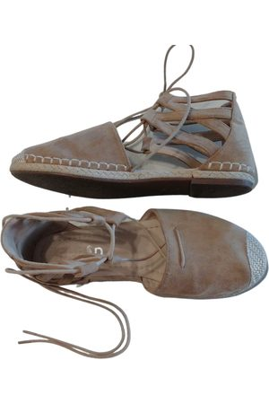Fred Camel Patent leather Espadrilles