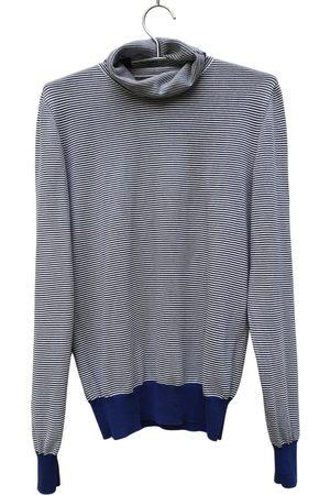 Maison Martin Margiela Navy Cotton Knitwear & Sweatshirts