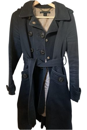 Marc Jacobs Navy Cotton Trench Coats