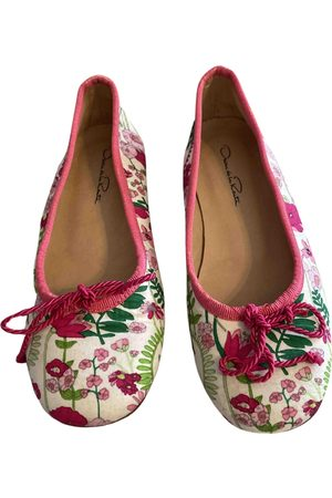 Oscar de la Renta Multicolour Cloth Ballet Flats