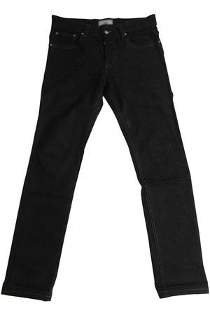 Ami Navy Cotton Jeans