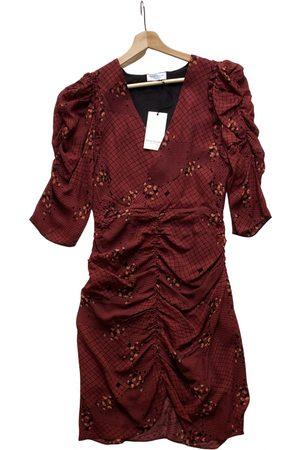 HOFMANN Women Dresses - Burgundy Synthetic Dresses