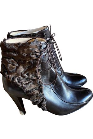 Matthew Williamson Leather Ankle Boots