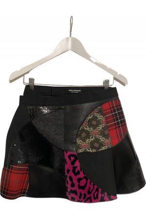 JUNYA WATANABE Women Mini Skirts - Wool mini skirt