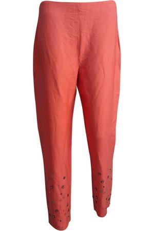 VALENTINO GARAVANI Women Chinos - Silk chino pants