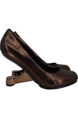 united nude Metallic Cloth Heels
