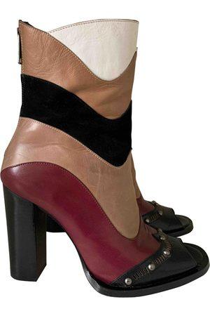 HAVVA Multicolour Leather Heels
