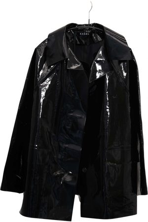 Kassl Editions Patent leather trench coat