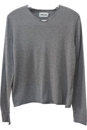 Zadig & Voltaire Grey Cotton Knitwear & Sweatshirts