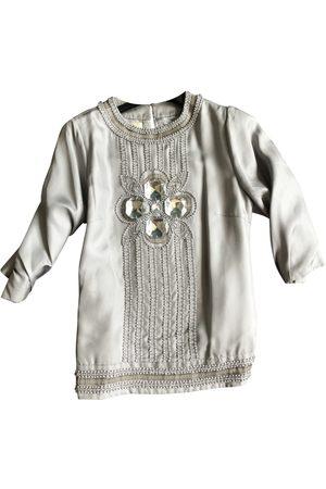 By Malene Birger Grey Silk Jumpsuits