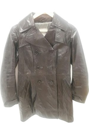 METEO Women Trench Coats - Leather Trench Coats