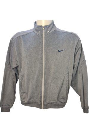 Nike Grey Polyester Knitwear & Sweatshirts