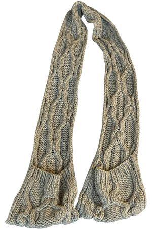 Chloé Grey Wool Scarves
