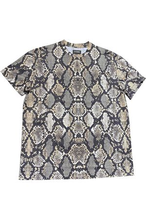 Les Hommes Multicolour Cotton T-Shirts